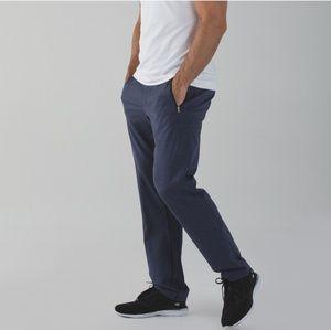 Lululemon heathered blue Discipline active pants